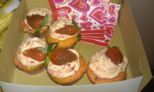 Strawberry Muffins from Fried Green Tomatoes
