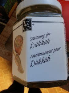 Epicure's Dukkah Spice - I thought it was a fun play on Count Dooku.