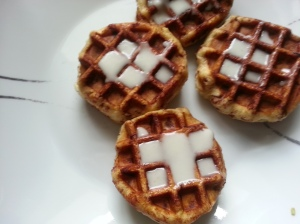 Leia Bun Waffles - I really like the shape.