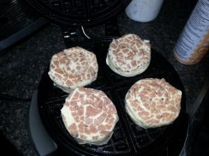 Leia Bun Waffles.